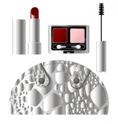 beauty products vector image