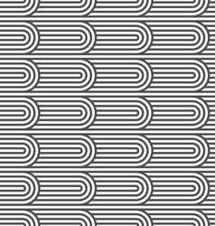 Flaked striped seamless pattern vector image vector image