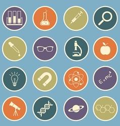 science icon vector image vector image