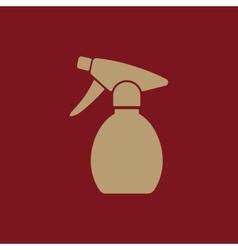 The sprayer icon atomizer symbol flat vector