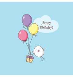 Birhday card vector
