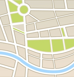 Background of city map vector