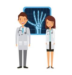 medical doctors design vector image