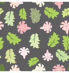Beautiful flower seamless pattern vector