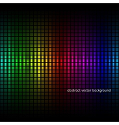 Abstract squares equalizer background vector