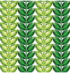 Emeralds leaves seamless texture vector