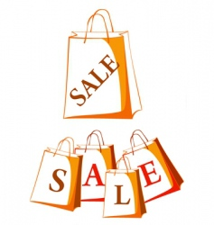 sale package vector image vector image