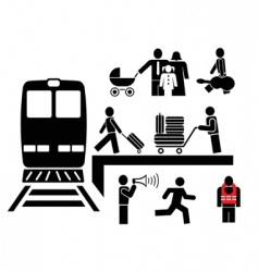Pictogram vector