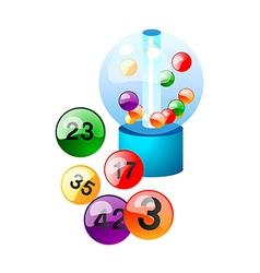 Icon lotto vector