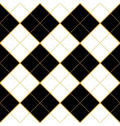 Royal white black diamond background vector