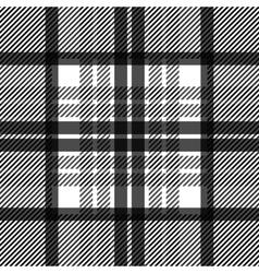 Seamless tartan pattern repeated plaid twill tile vector image vector image