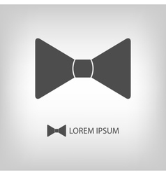 Bowtie as logo vector image