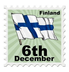 National day of finland vector