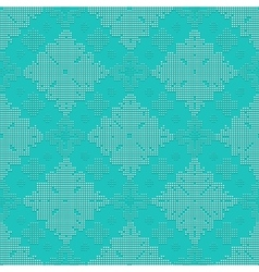 Delicate seamless classic pattern vector