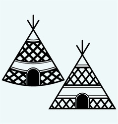 Indian tepee vector