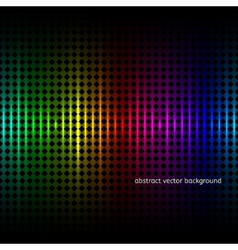 Abstract squares equalizer background vector image vector image