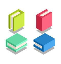 book icon symbol vector image vector image