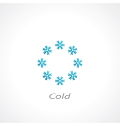 Cold symbol vector
