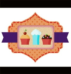 Confectionery label vector
