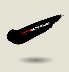 black brush texture background set vector image