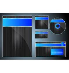 stationary design vector image