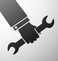 Human hand Stock vector image