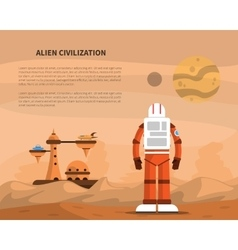 Space Concept vector image