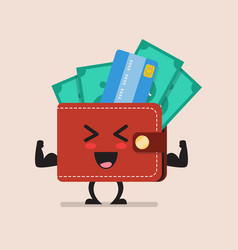 Strong wallet character vector