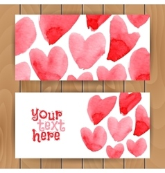 Love card template vector
