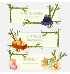 Spa and aromatherapy vector