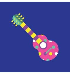 Guitar-icon-colorful vector