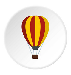 Balloon icon circle vector