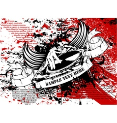 Grunge music poster vector