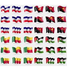 Los altos papua new guinea benin westarn sahara vector