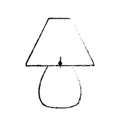 Sketch lamp light electric decoration vector