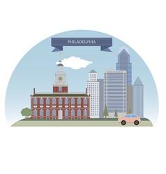 Philadelphia vector
