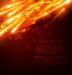 glowing background vector image vector image
