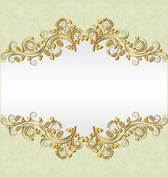 pale yellow background vector image vector image