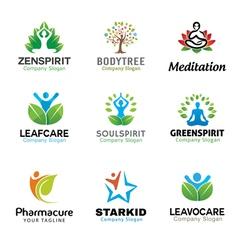People Person Body Symbol Green Design vector image vector image