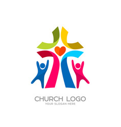 people worship the lord jesus christ vector image vector image
