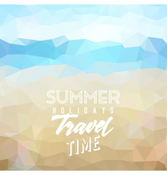 Summer tropical holidays background vector