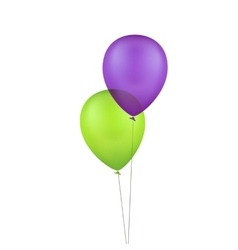 Multicolored colorful balloons vector