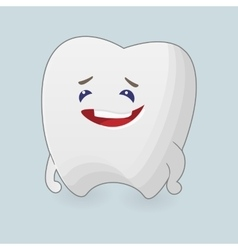 Kind tooth vector
