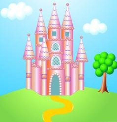 Fantasy castle vector
