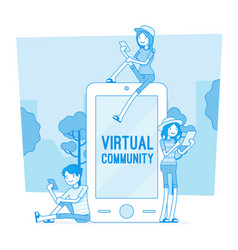 Virtual youth communication vector