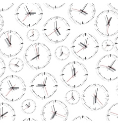 Wall clock Seamless vector image
