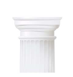 classic style column vector image