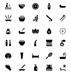 Spa icons 3 vector