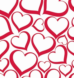 Valentine's day conceptual heart backdrop vector