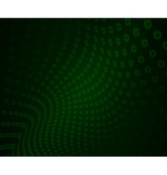 Geometric Abstract Modern GREEN vector image